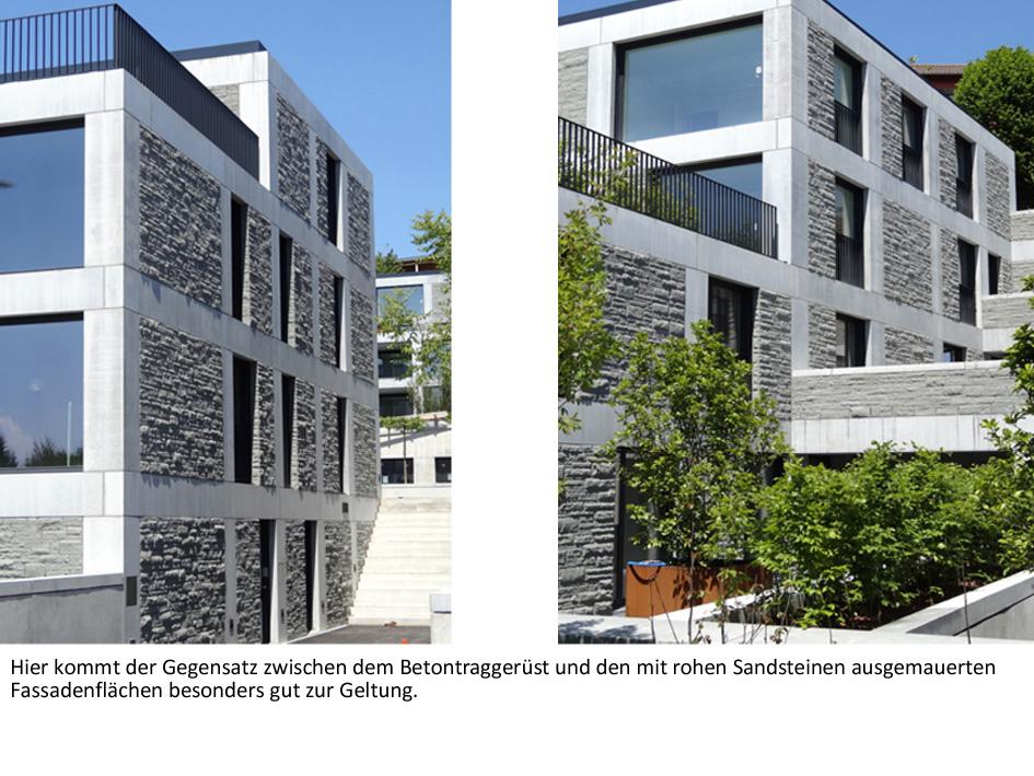 sandstein und beton reizvoll kombiniert litosonline. Black Bedroom Furniture Sets. Home Design Ideas