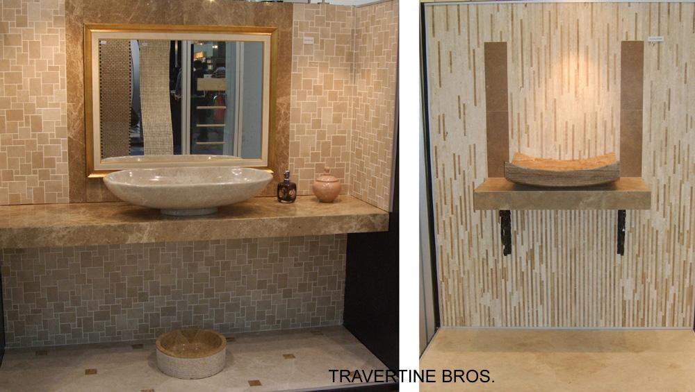 Dise os de cuartos de ba o en piedra natural i litos online for Banos de piedra natural