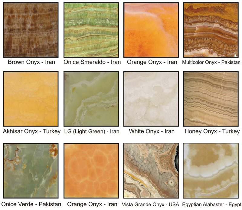 Onyx Stone Colors : Onyx materials always in fashion all about natural