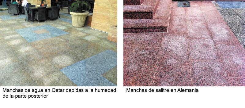Problemas y soluciones del uso de piedra natural en - Como limpiar aceite del piso ...
