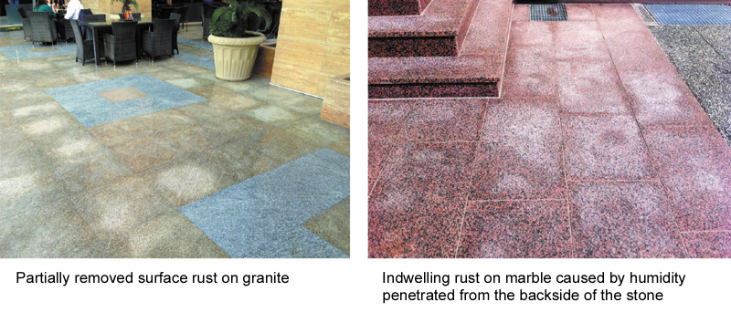 Natural Stone Problems And Solutions For The Use In Outdoor Areas