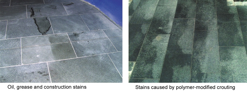 Natural Stone: Problems and Solutions for the use in outdoor