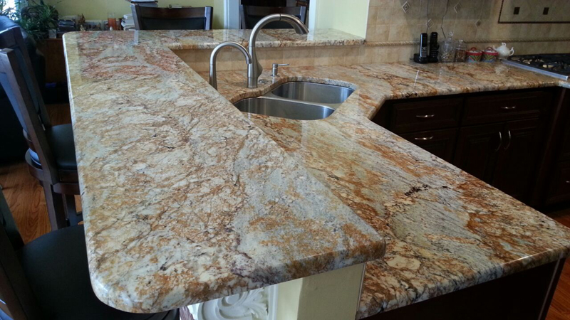 selecting a granite kitchen counter top i