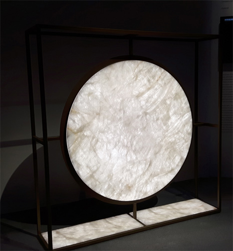 This Ancient Chinese Instrument, The Gong Of Light, Has Inspired Georgio  Canale To Create This Maxilamp That Enhances The Translucency Of Marble  White ...