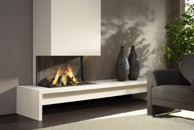 Chimeneas de piedra dise os modernos litosonline - Decoracion de chimeneas modernas ...