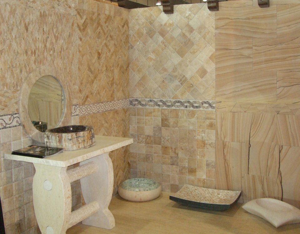 Natural Bathroom Ideas: Bathroom Designs In Natural Stone
