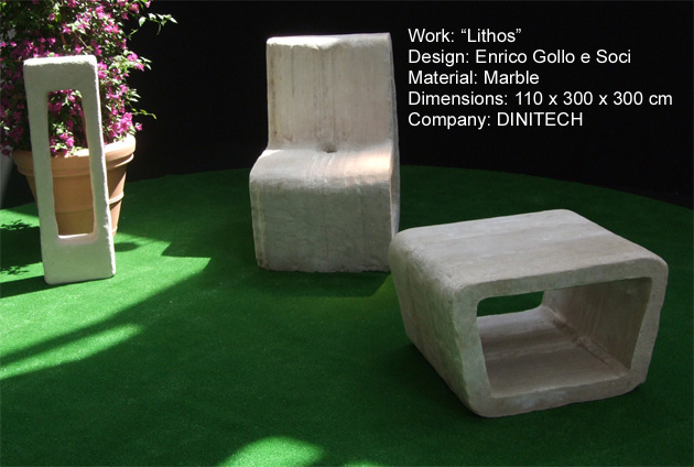 design in stone for urban furniture litosonline. Black Bedroom Furniture Sets. Home Design Ideas