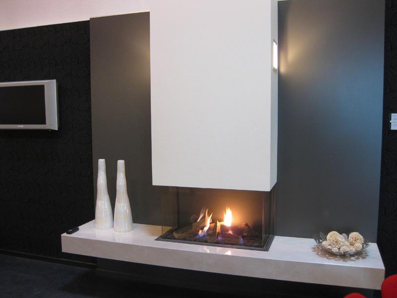 kamine aus stein modernes design litosonline. Black Bedroom Furniture Sets. Home Design Ideas