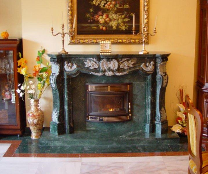 Chimneys In Stone: Classic Designs | Litosonline